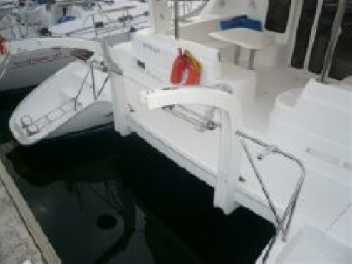 Used Sail Catamaran for Sale 2007 Leopard 43  Deck & Equipment